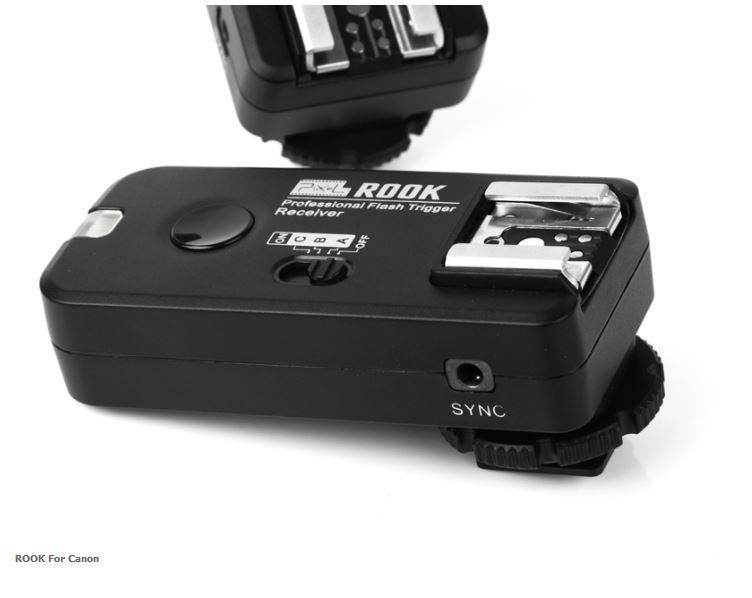 PIXEL ROOK PF-508RX WIRELESS FLASH TRIGGER CANON
