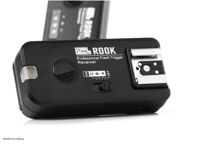 PIXEL ROOK PF-508RX WIRELESS FLASH TRIGGER NIKON