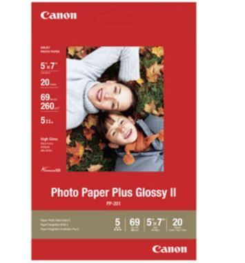 CANON PP-201 PHOTO PAPER PLUS II 13x18-20F
