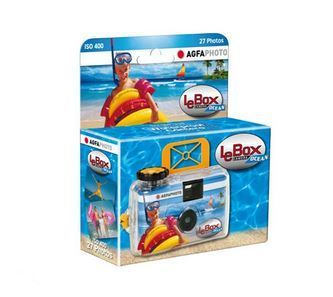 AGFA DESCARTAVEL LEBOX 400 OCEAN