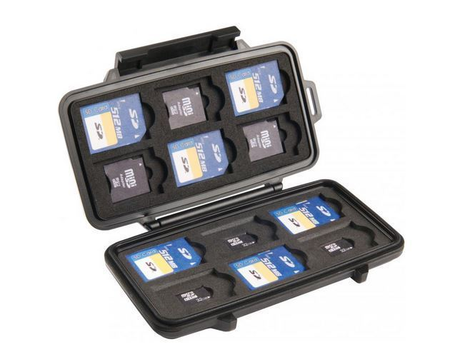 PELI 0915 SD MEMORY CARD CASE