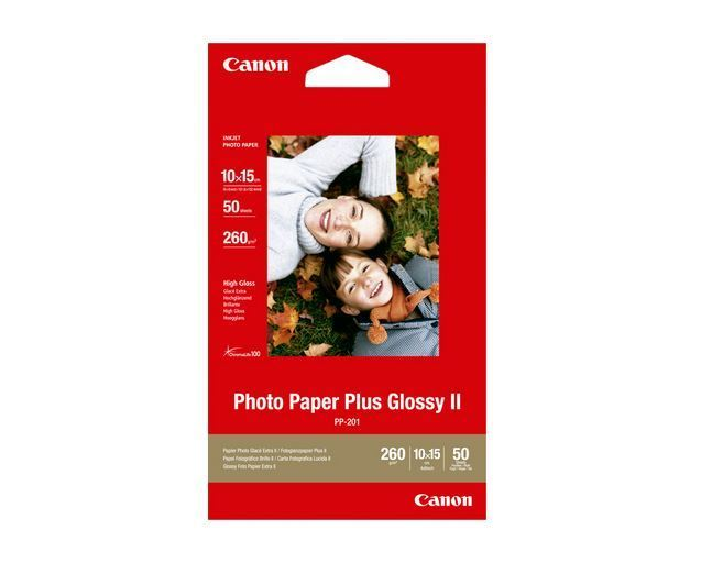 CANON PP-201 PHOTO PAPER PLUS II 10X15-50F