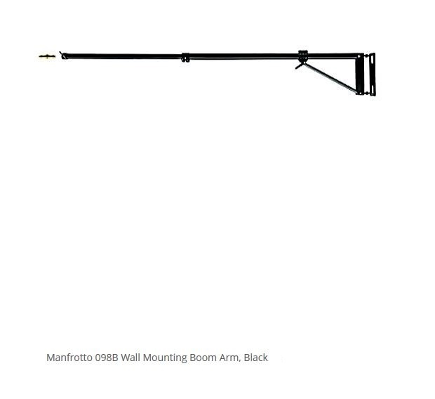 MANFROTTO 098B WALL BOOM