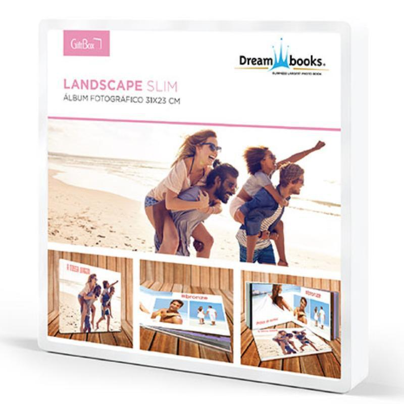 DREAMBOOKS ALBUM DB LANDSCAPE SLIM 31X23 (48PAG)