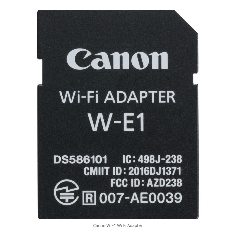 CANON W-E1 WIRELESS FILE TRANSMITTER