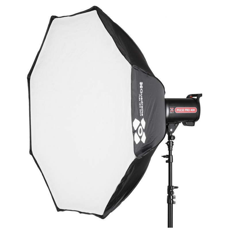 QUADRALITE FLEX 120 SOFTBOX OCTAGONAL RAPIDA