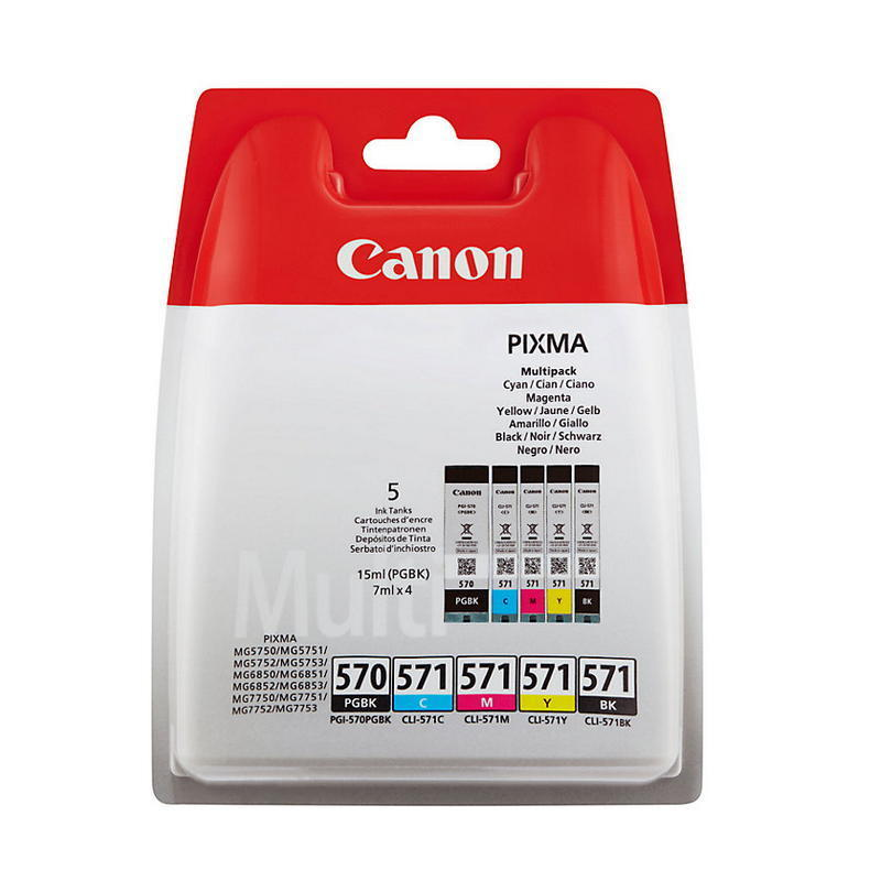 CANON PGI-570-CLI-571 VALUE PACK